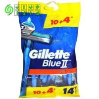 تیغ اصلاح 14 عددی Gillette Blue 2 Plus