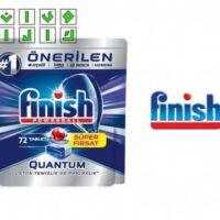 قرص ماشین ظرفشویی فینیش Quantum بسته 72 عددی