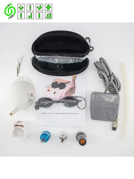 دستگاه لیزر پاک کننده تاتو و لک کیوسوئیچ مدل J-200