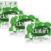 صابون دالان dalan سفید رایحه کلاسیک ( klasik ) بسته ۴ عددی