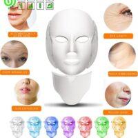 ماسک صورت LED و نور درمانیLED facial mask