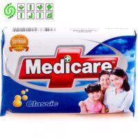 صابون حمام آنتی باکتریال MEDICARE مدل CLASSIC بسته 6 عددی