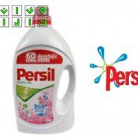 ژل و مایع لباسشویی پرسیل Persil ترکیه رایحه گل رز مقدار 4200 گرم