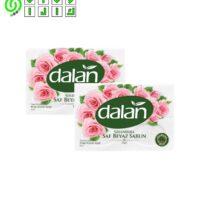 صابون دالان ترکیه رایحه گل رز dalan saf beyaz sabun gul وزن 600 گرم