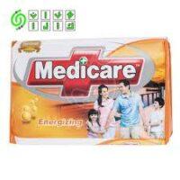 صابون حمام آنتی باکتریال MEDICARE مدل Energizing بسته 6 عددی