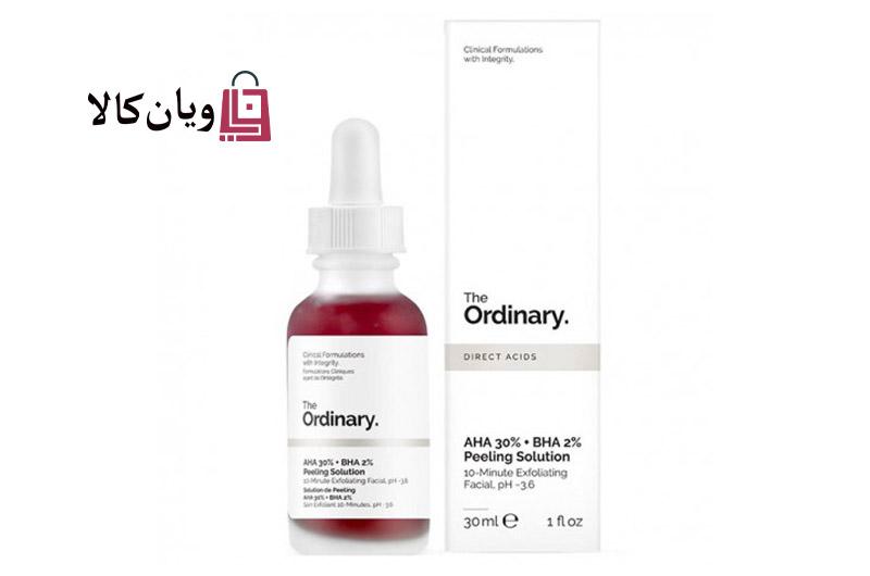 سرم درمانی ضد جوش و لایه بردار اوردینری عصاره تمشک Ordinary