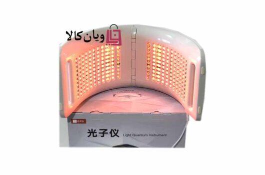 دستگاه ماسک تونلی LED نور درمانی 7 رنگ تاشو