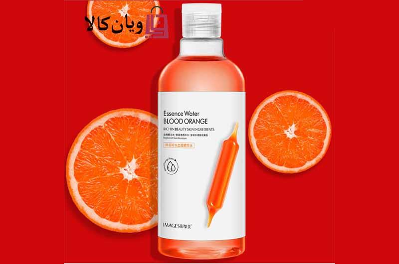 تونر آبرسان و مرطوب کننده صورت پرتقال خونی ایمیجز Images