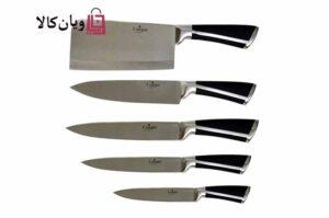ست چاقو، کارد و ساطور آشپزخانه یونیک Unique 9pcs