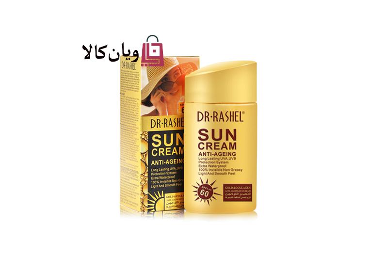 ضد آفتاب بدون رنگ دکتر راشل SPF60