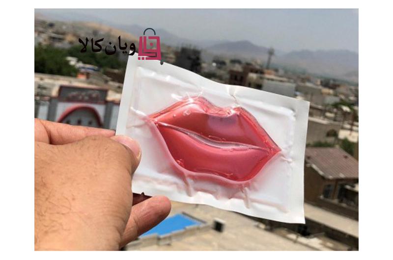 ماسک ورقه ای نرم کننده و کلاژن ساز لب Lips mask
