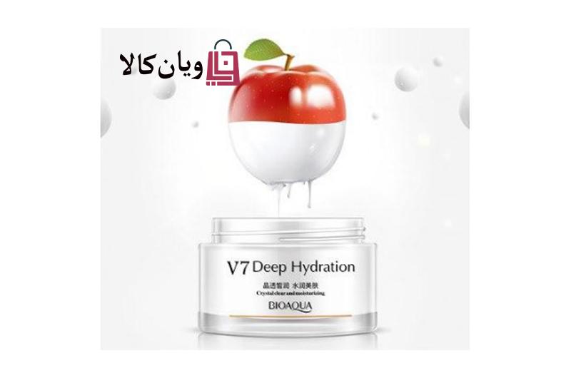 کرم روشن کننده قوی و ویتامینه 7V بیوآکوا BIOAQUA