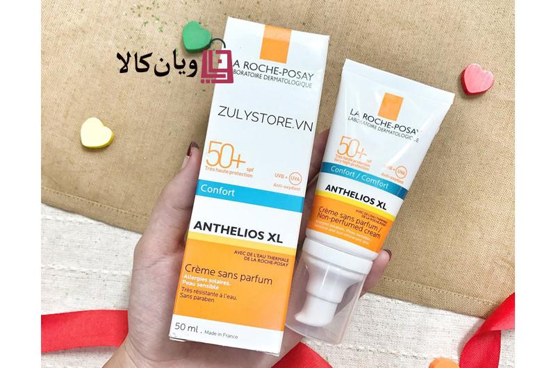 کرم ضد آفتاب و ضد لک بدون رنگ 50 SPF لیراک